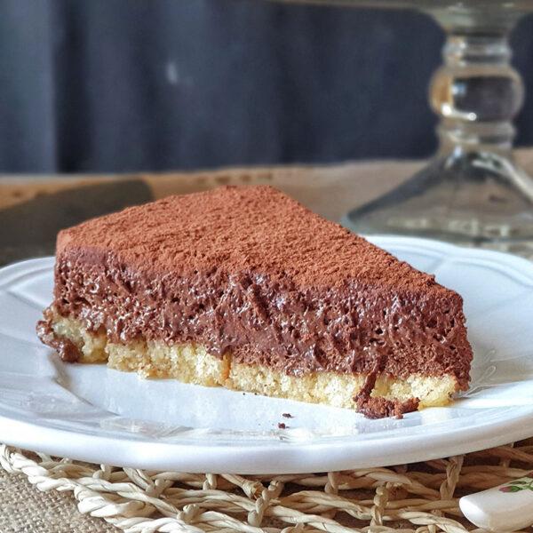 Tarta mousse de chocolate y naranja. Mamá Naranja