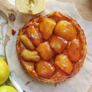 Tarta tatin de manzanas de Gerona. Mamá Naranja